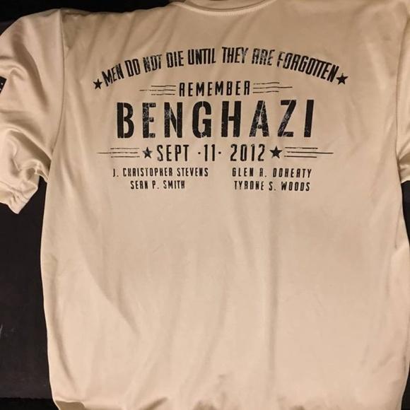 Nine Line Apparel Shirts   Nine Line Benghazi Memorial Tee   Poshmark